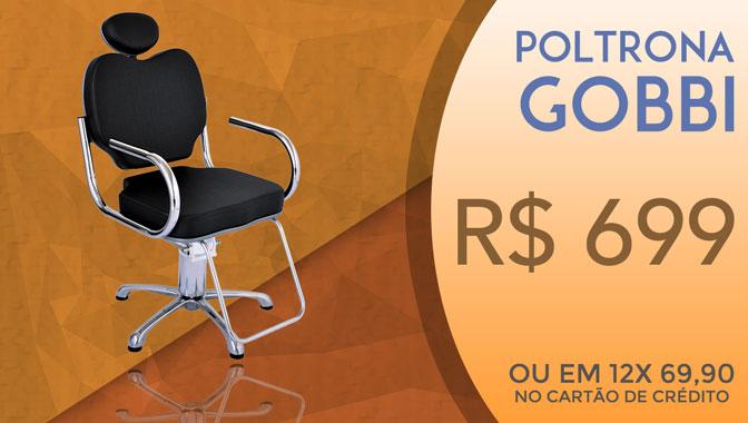 Poltrona Gobbi por R$ 699,00