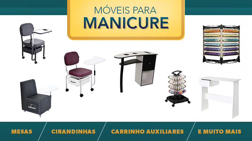 Móveis para Manicure